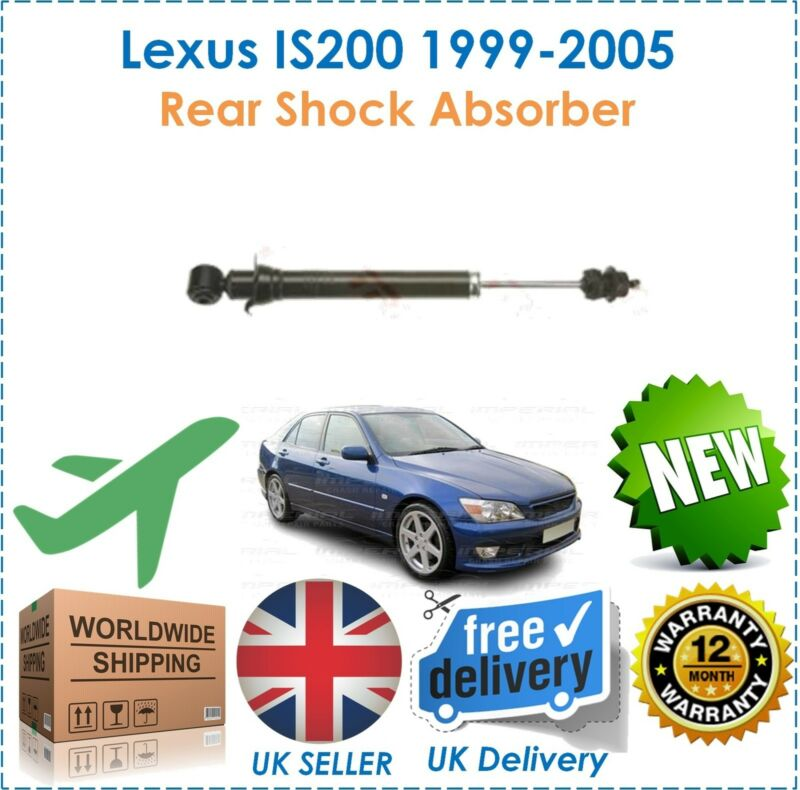 For Lexus IS200 2.0 1999-2005 One 1 Rear Shock Absorber New OE Quality