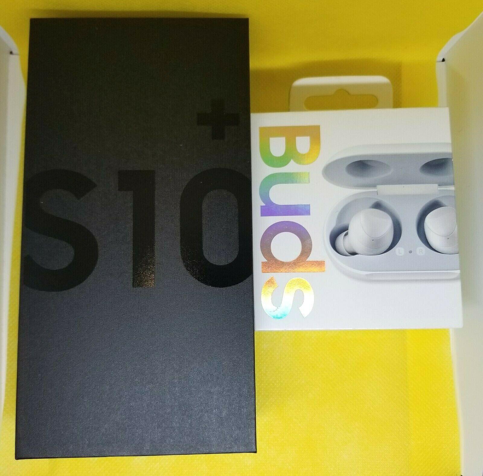 BRAND NEW Samsung Galaxy S10+ Plus SM-G975U - 128GB - Unlocked - BUNDLE DEAL