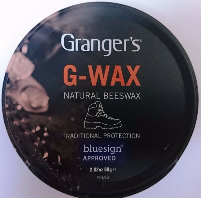 1x Grangers/Fabsil G-Wax Natural Beeswax Leather Boot/Shoe Polish Dubbin Proofer