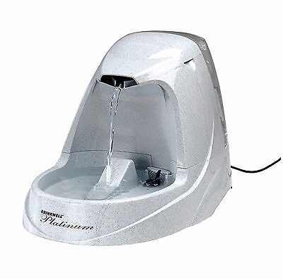 Drinkwell Dog Cat Healthy Pet Platinum Safe Water Fountain 168oz, New