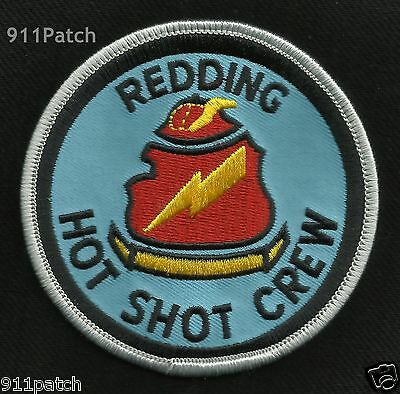 Redding Ca - Hot Shot Crew Wildland Firefighter Patch
