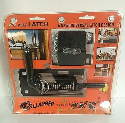 Gallagher Lone Wolf Gate Latch Door Farm Fence Alw100 New Old Stock