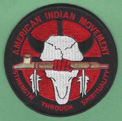 AIM AMERICAN INDIAN MOVEMENT STRENGTH THROUGH SPIRITUALITY PATCH