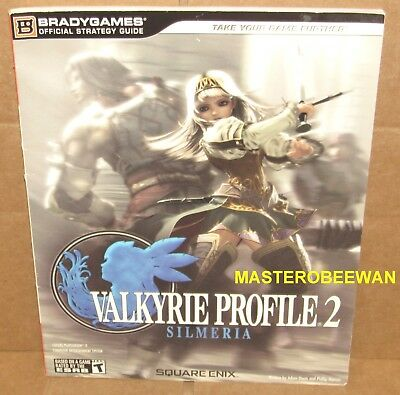 Valkyrie Profile 2 Silmeria Official Strategy Guide Book PlayStation 2 PS2 New