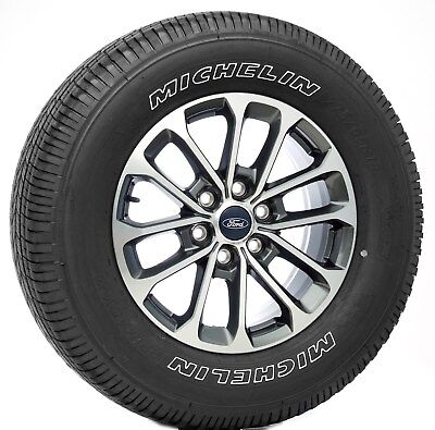 "New Set Ford F150 Takeoff 18"" Wheels Michelin Tires 2004-18 FX2 FX4 Lariat TPMS"