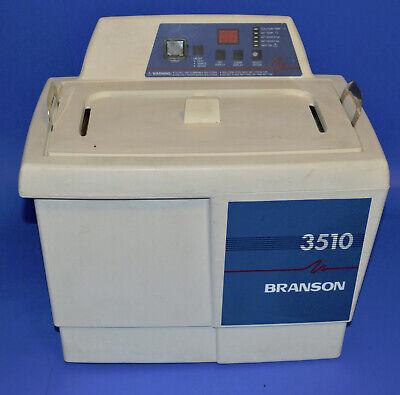 Branson 3510 Bransonic 3510r-dth Ultrasonic Cleaner 1.5 Gal Heated W Basket