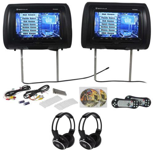 "Rockville RVD951-BK 9"" Black Dual DVD/USB/HDMI/SD Car Head"
