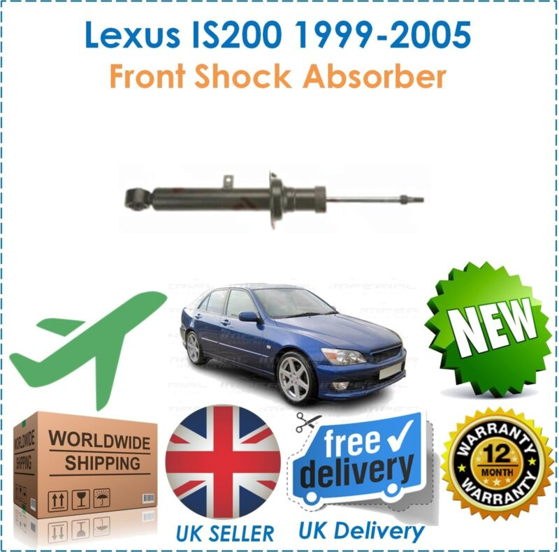 For Lexus IS200 2.0 1999-2005 One 1 Front Shock Absorber New OE Quality
