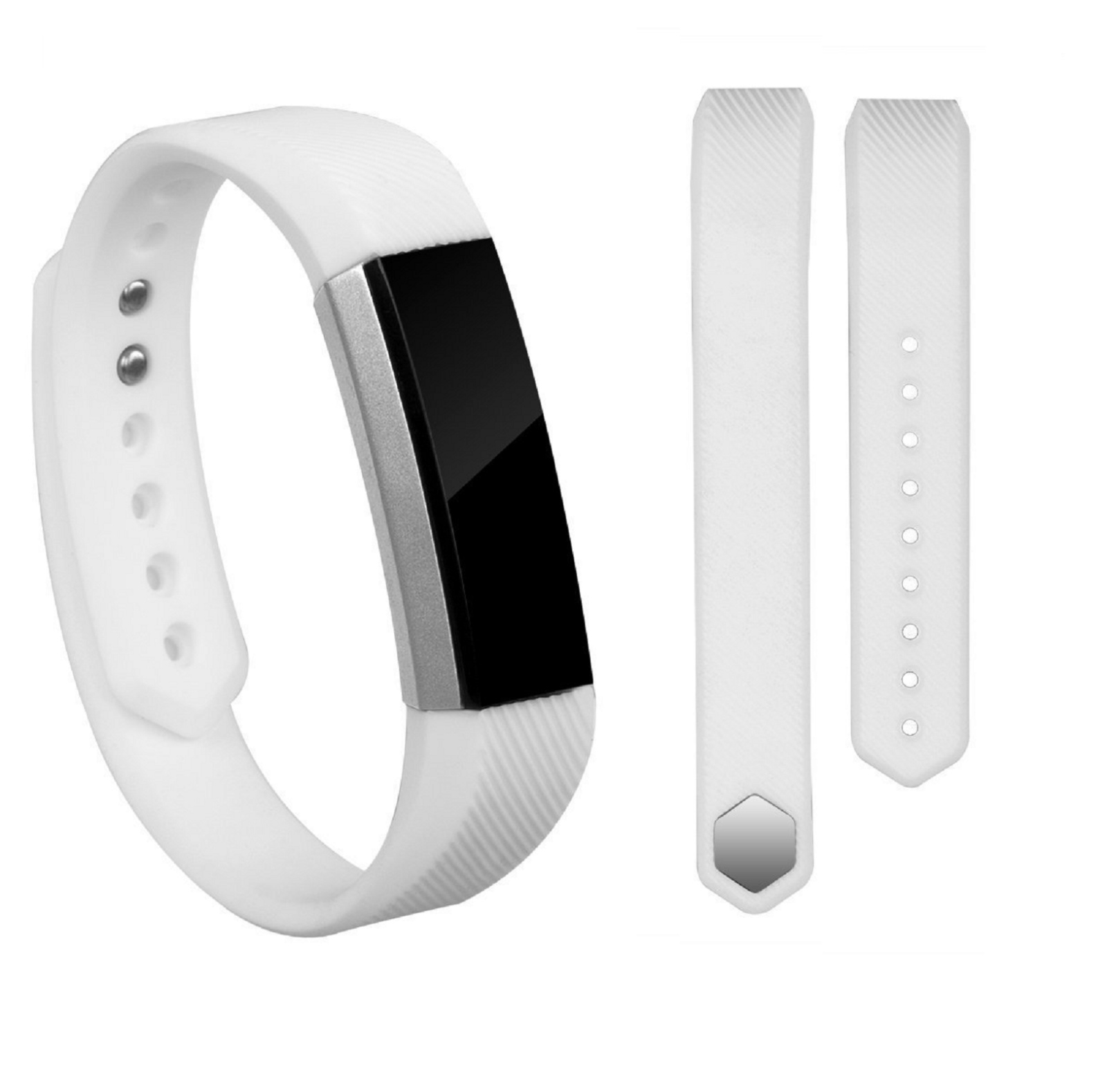 Replacement Silicone Wrist Band Strap For Fitbit Alta/ Fitbit Alta HR White
