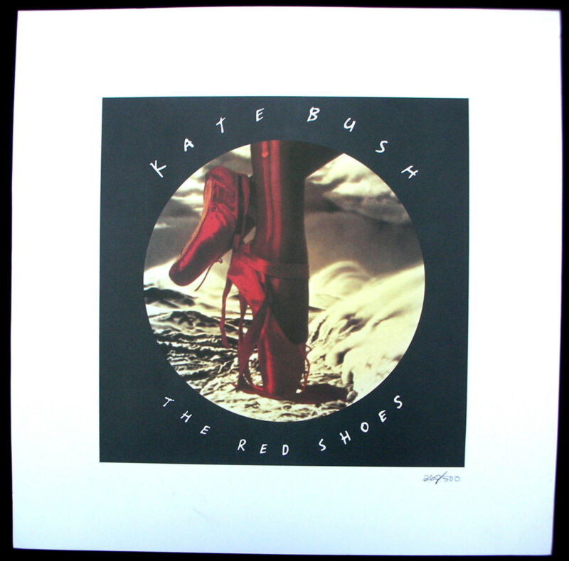 KATE BUSH The Red Shoes 1993 US Promo Only LITHO Poster NUMBERED Minty!