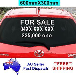 car for sale sticker ebay. Black Bedroom Furniture Sets. Home Design Ideas