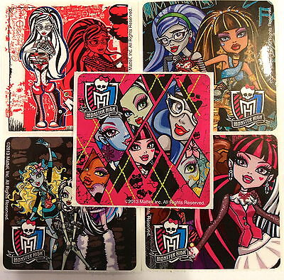 25 Monster High Stickers Party Favor Teacher Supply #2 (Monster High Party)