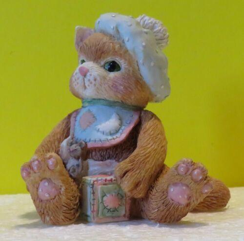 "1992 Calico Kittens figurine ""A Bundle of Love"" by Priscilla Hillman 628433"