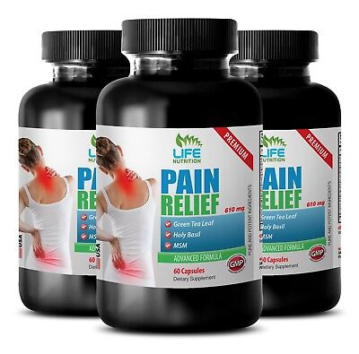 joint pain relief supplements - PREMIUM PAIN RELIEF FORMULA 610MG 3B - best