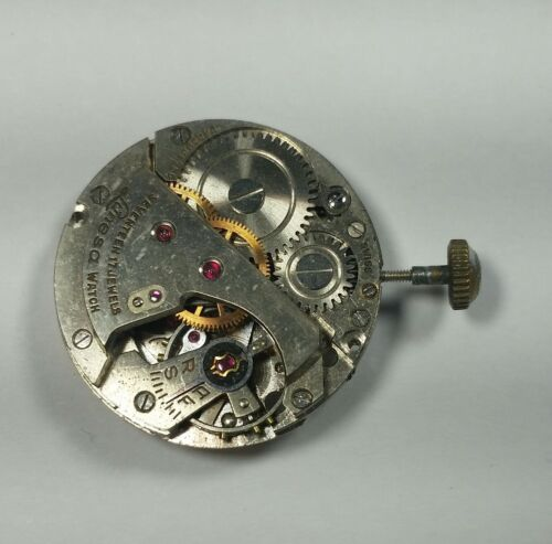 Lunesa, ( AS 1187), 10 1/2 Ligne Watch Movement For Parts Or Repair.