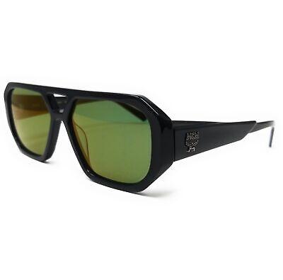 MCM Sunglasses MCM677S 001 Black Navigator Men's 57x15x140