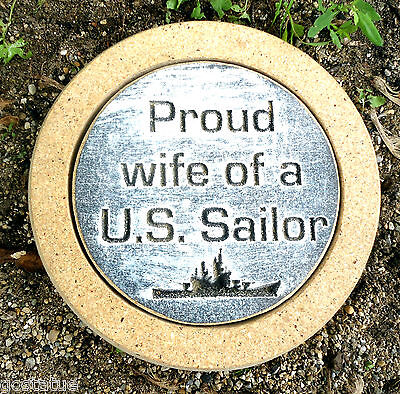 Gostatue Us Sailor Stepping Stone Plastic Concrete Plaster Mold Mould