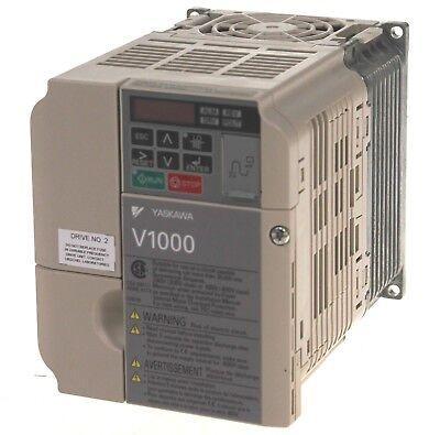 Yaskawa Cimr-vu4a0005bma V1000 Variable Frequency Drive 2hp 4.8a 480v