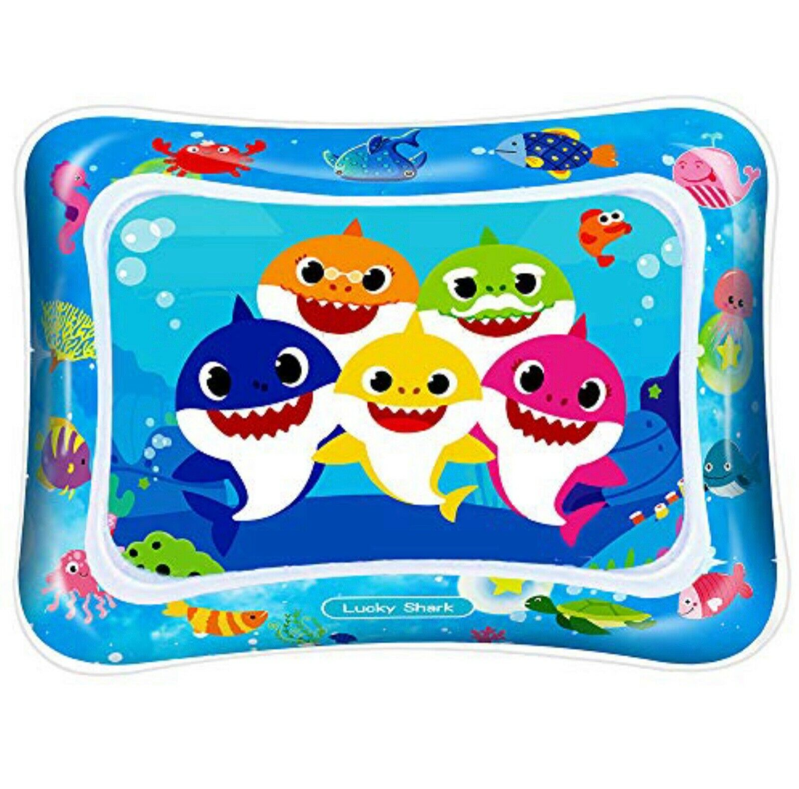 Baby Water Play Mat Large Inflatable, Perfect Tummy Time - $14.99