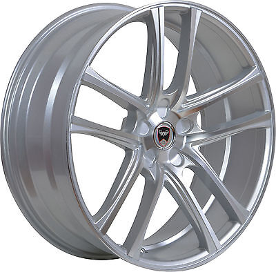 4 GWG ZERO 22x10.5 inch Silver Rims fits PORSCHE CAYENNE 2004 - 2020