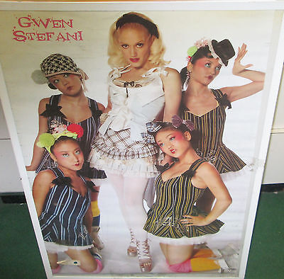 GWEN STEFANI RARE 2005 POSTER NO DOUBT OUT OF PRINT 2005
