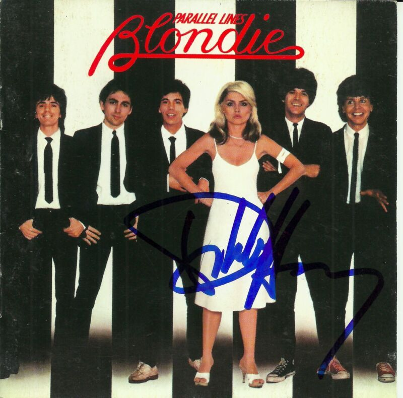 Debbie Harry signed Parallel Lines cd