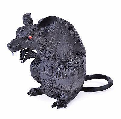 Ratte sitzen Filthy Kreatur gruselig Streich General Spass Halloween Party Deko