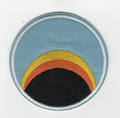 Space 1999 Alpha Moonbase Sunrise Logo Uniform Jacket Patch 3 inches tall patch
