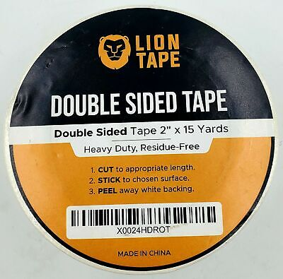 Double Sided Tape 2 X 15 Yards Heavy Duty Residue Free