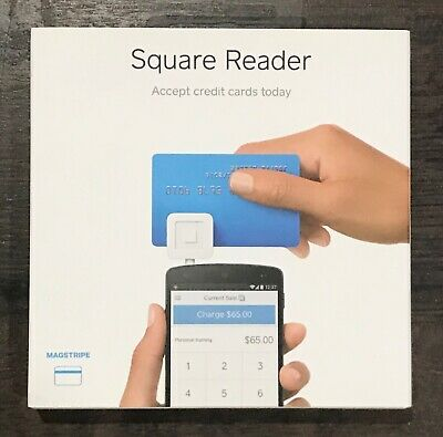 Square Credit Card Reader Magstripe For Mobile Devices Iphone Ipad Android