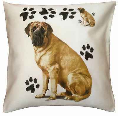 Mastiff Paws Breed of Dog Cotton Cushion Cover - Perfect Gift