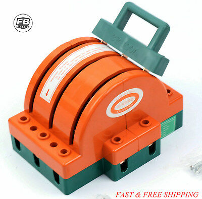 Disconnect Knife Switch 100a 3 Pole Circuit Breaker Backup Generator 3 Pin