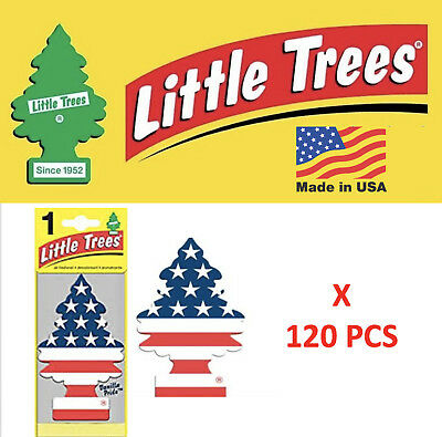 Vanilla Pride Freshener 10945 Little Trees MADE IN USA Pack of 120