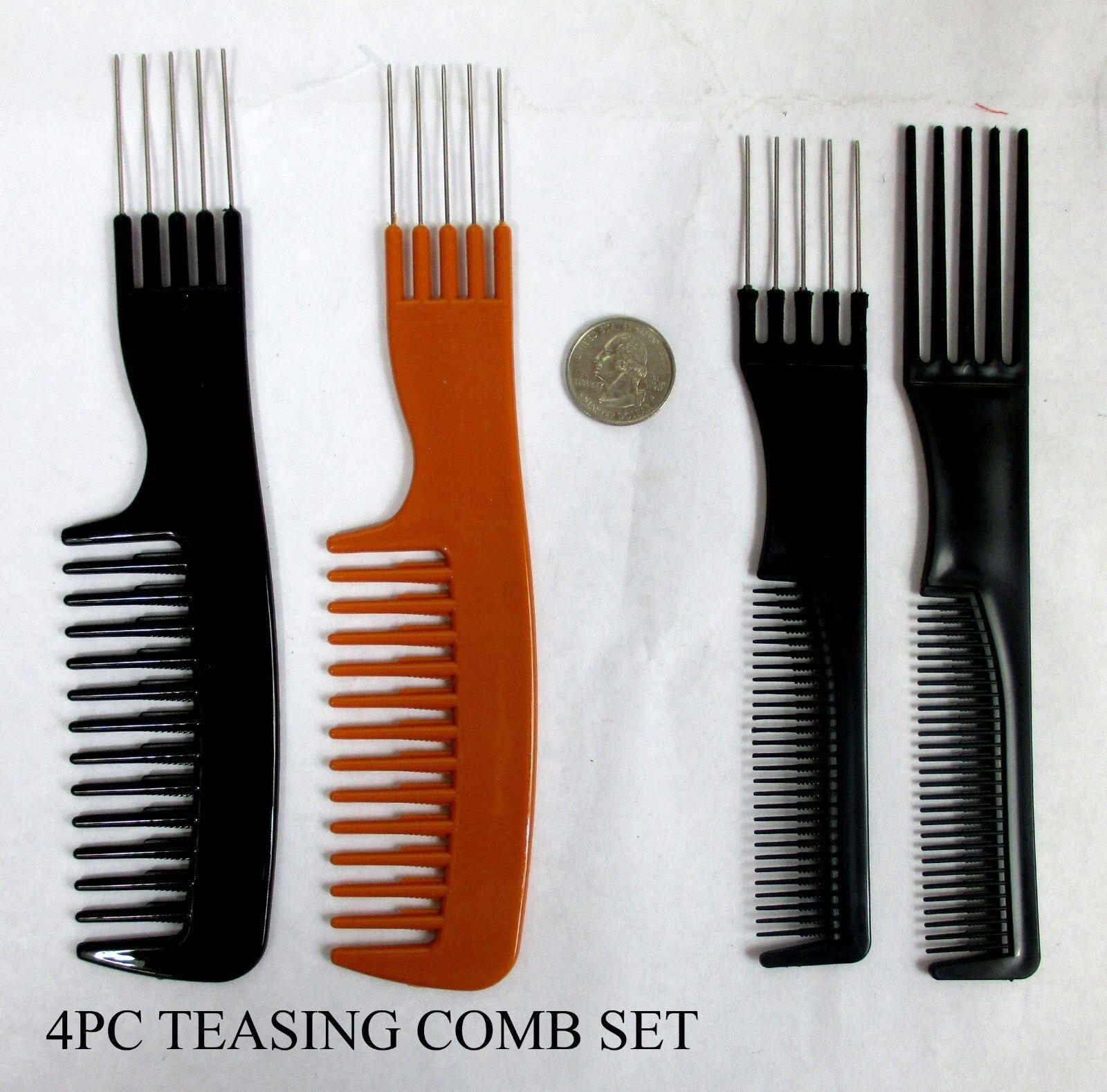 1 2 4 pc teasing hair styling
