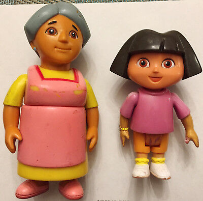 Dora The Explorer   Grandma Abuela Doll Dollhouse Figures