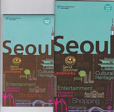 *KOREA* Seoul Tourist Map & Guide Book_Travel to yourself_English