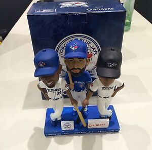 MLB Toronto Blue Jays Triple Player Bobblehead