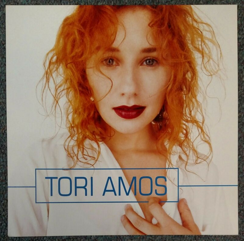 Tori Amos Boys for Pele 1996 USA DOUBLE-SIDED CARDBOARD PROMO POSTER FLAT