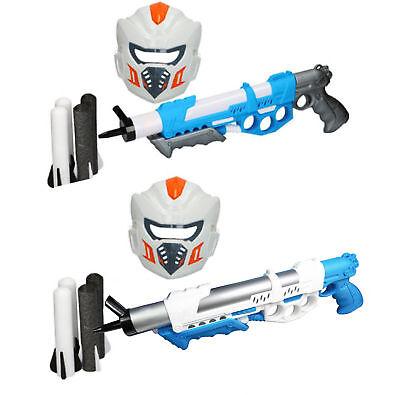 Luftdruck Gewehr Kinder Spielzeug Pistole Air Gun Space Softschüsse Spielset
