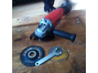 Clarke 4 1/2 inch 115mm 800w angle grinder