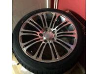 X4 bmw 17alloy wheel brand new