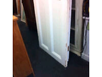 2 x large solid wood doors