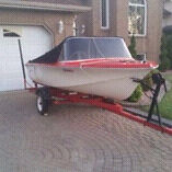 Wanted: 14ft boat with console