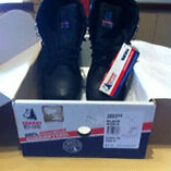 Men's steel capped boots size 8 Alexander Heights Wanneroo Area Preview