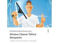 Window cleaner job