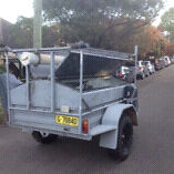 Enclosed off road camper boat trade trailer Annandale Leichhardt Area Preview