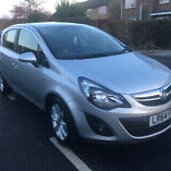 Vauxhall corsa Excite (1lady owner)