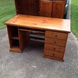 Wooden desk  West Ryde Ryde Area Preview