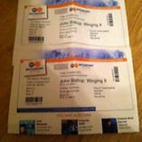 2x John Bishop tickets Nottingham Ice Arena
