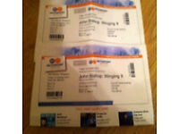 2x John Bishop tickets Nottingham Ice Arena